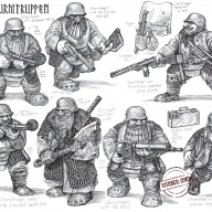 Panzerfäuste Dwarf Sturmtruppen