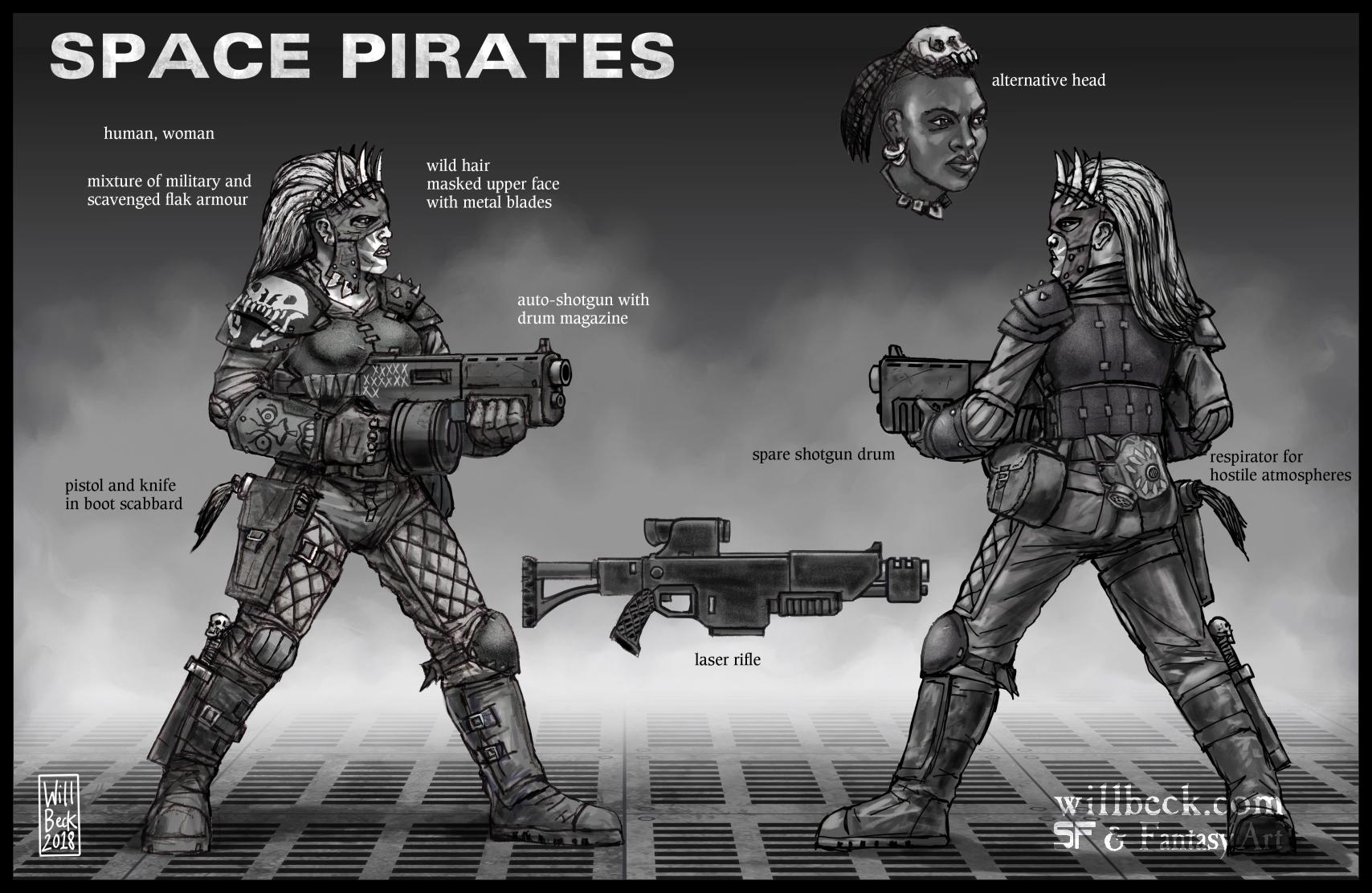 Space Pirates - concept 02