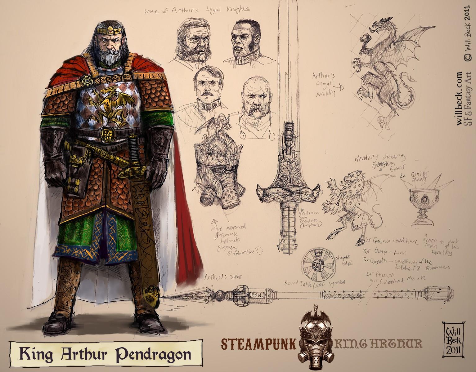 Steampunk King Arthur