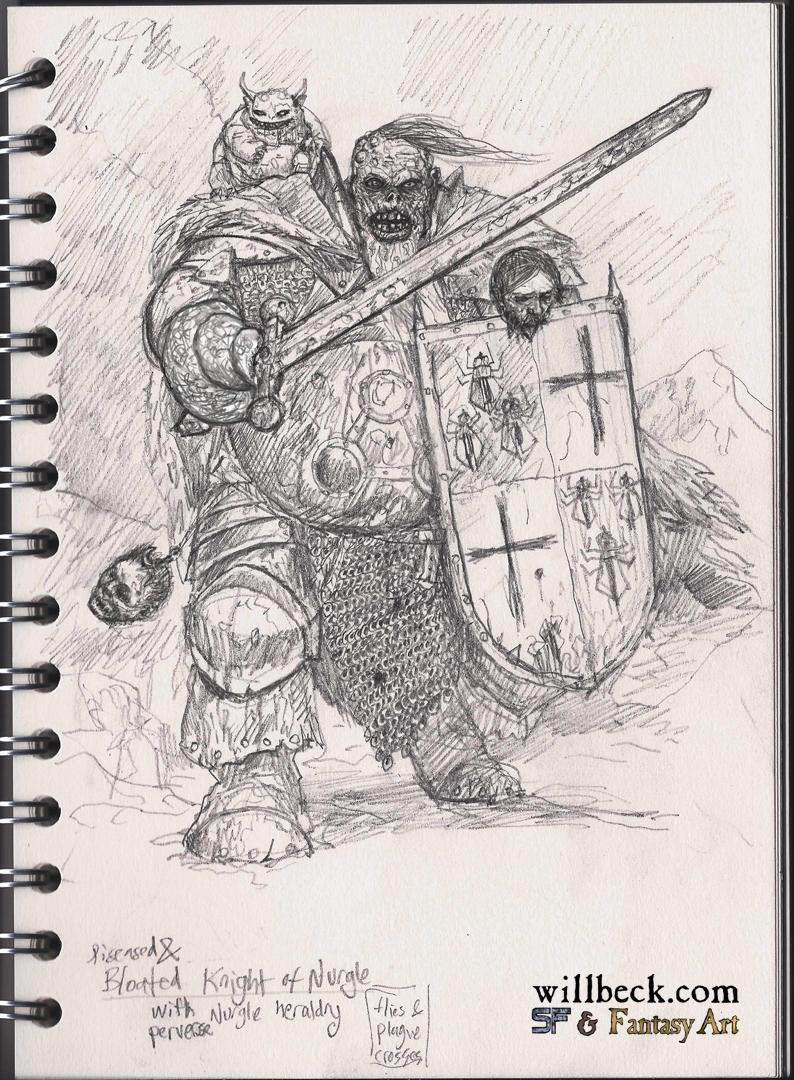 Chaos Knight of Nurgle